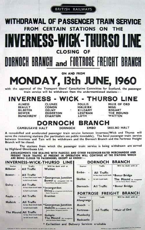 British Rail Passenger Notice