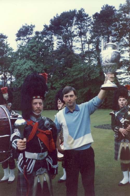 Golfer Garth McGimpsey