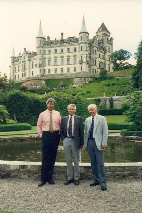 Lord Strathnaver at Dunrobin Castle