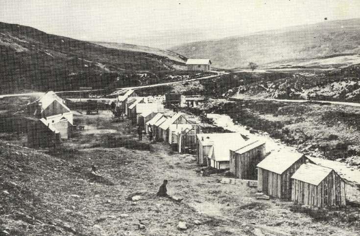 Shanty town, Kildonan 1869