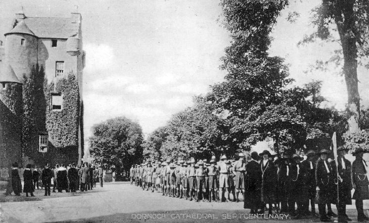 Dornoch Cathedral Sept 1924 Centenary Parade