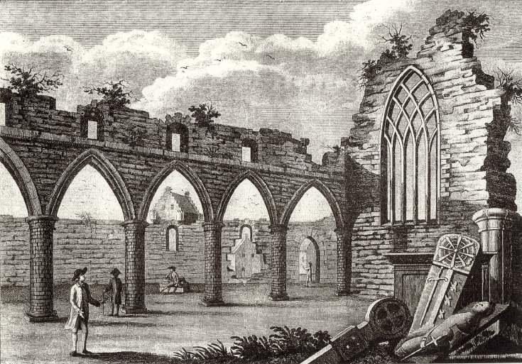 Cordiner's sketch of cathedral nave 1776