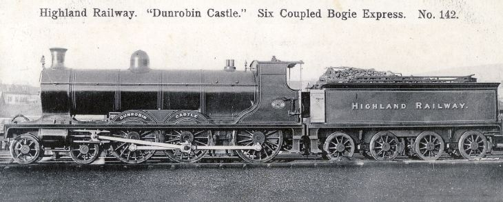 Dunrobin Castle Locomotive
