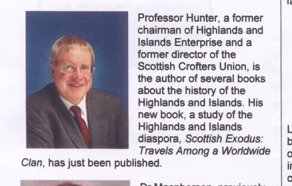CD of inaugural lecture by Professor James Hunter