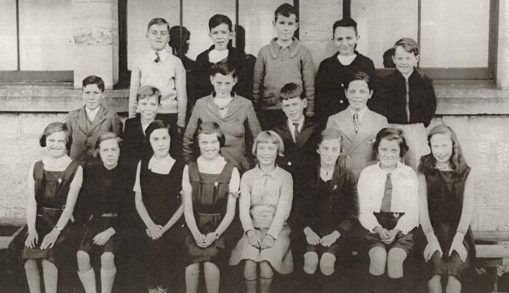 Dornoch Academy Photograph 1937