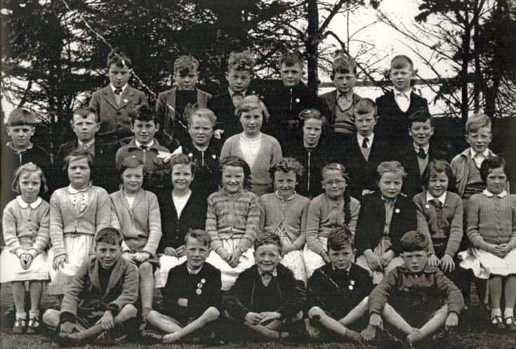 Dornoch Academy Photograph 1955-56