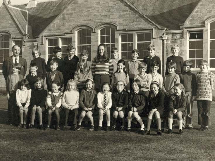 Dornoch Primary School 1973
