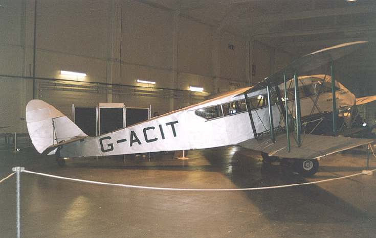 De Havilland DH84 Dragon Aircraft