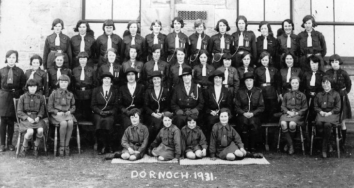 Dornoch Girl Guides 1931