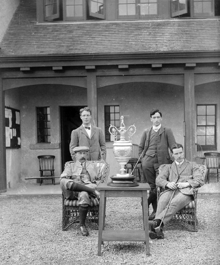 Winners of Northern Counties Cup 1911