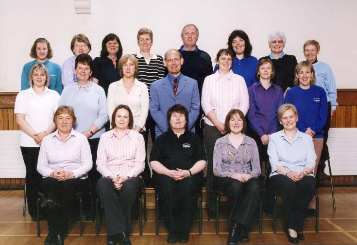 Dornoch Primary School Staff May 2004
