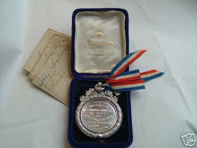 Carnegie Medal for best ploughing