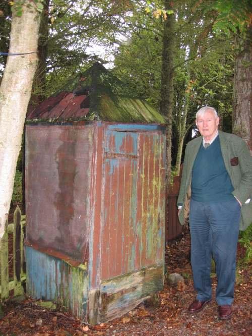 Meat safe in garden at Torranroy