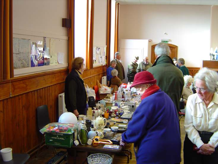 Bric-a-Brac Stall Dornoch Heritage Society Coffee Morning
