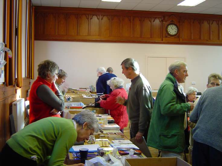 Book Stall at Dornoch Heritage Society Coffee Morning