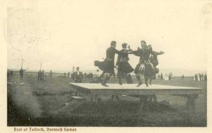Reel of Tulloch, Dornoch Games