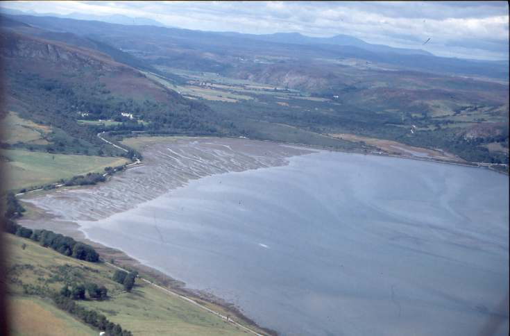 Aerial slides Loch Fleet Summer 2003