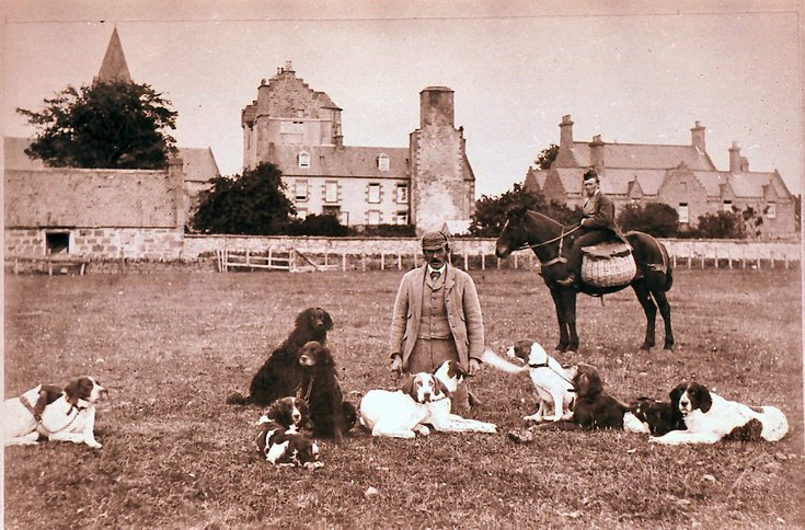 Gamekeeper William Macdonald at Dornoch Castle