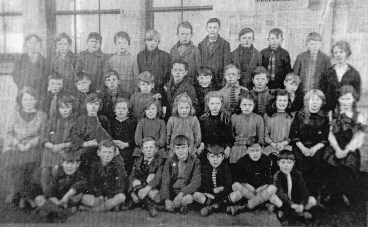 Dornoch Academy School photograph 1915