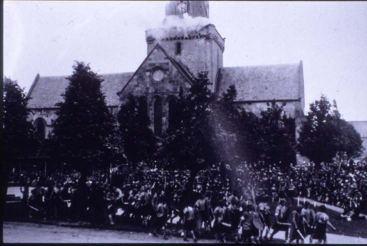 Dornoch Cathedral ~ 1928 Pageant