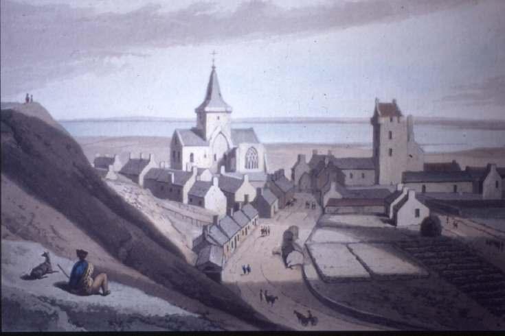 Dornoch Cathedral Daniell's Print