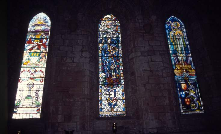 Dornoch Cathedral Stained glass windows