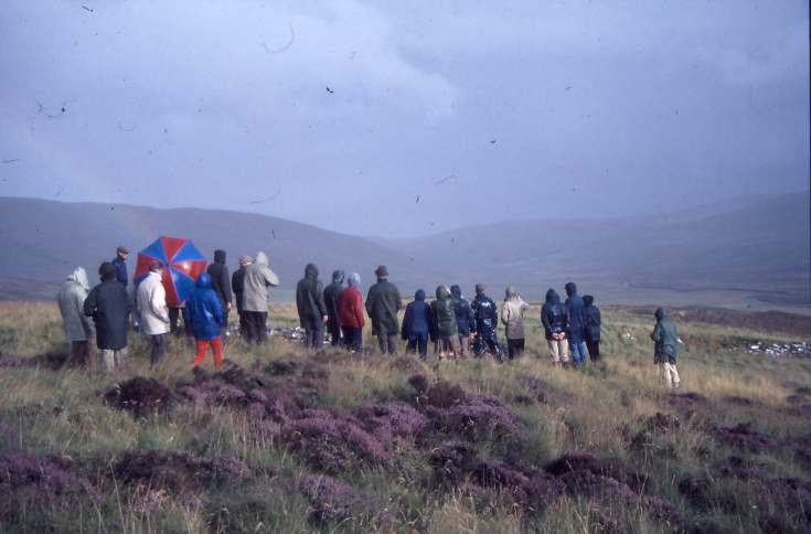 Dornoch Heritage Society outing 1987