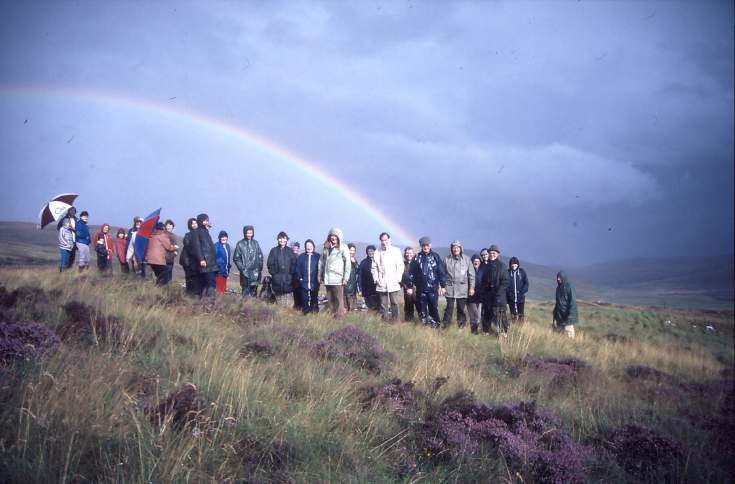 Dornoch Heritage Society outing 1987