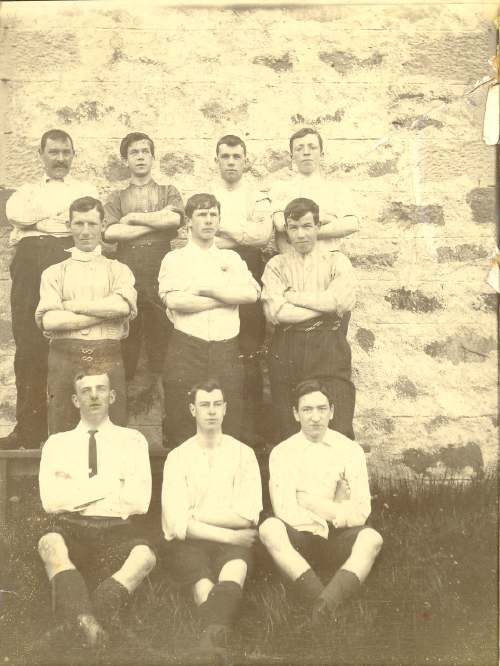Dornoch footballers, early 1900's