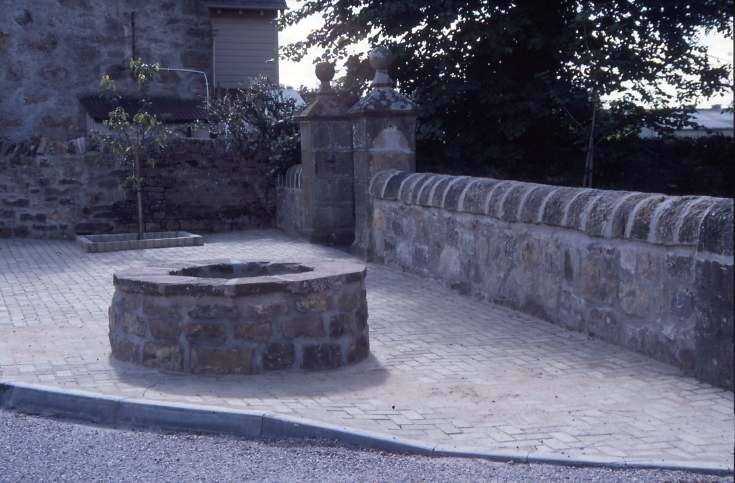Old manse well