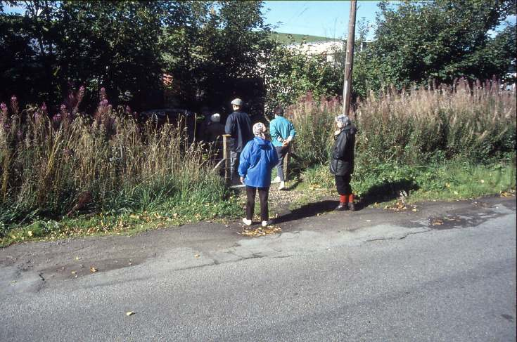 Walking the bounds 1989
