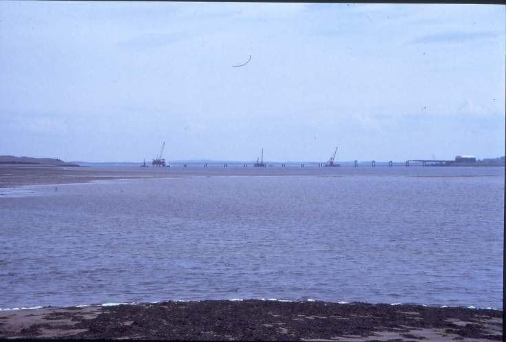 Dornoch Firth bridge under construction