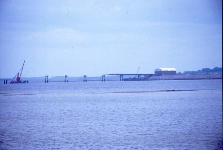 Dornoch Firth bridge under construction