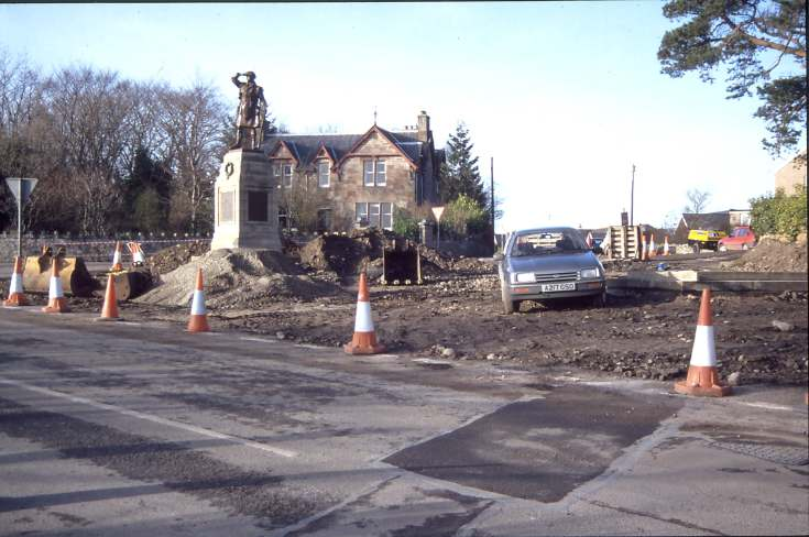 Dornoch War Memorial Relocation