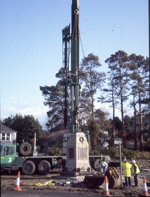 Dornoch war memorial move
