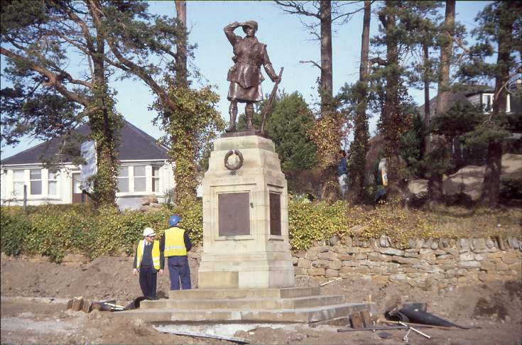 Dornoch war memorial move