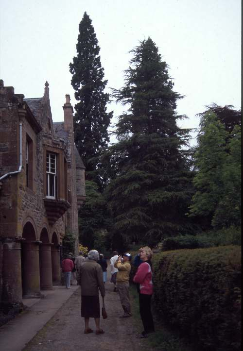 Dornoch Heritage Society outing to Castle Leod 1992