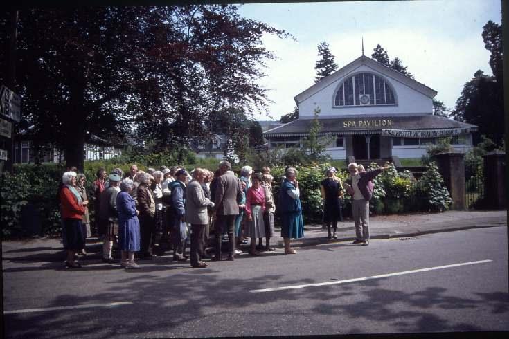 Dornoch Heritage Society outing to Strathpeffer 1992
