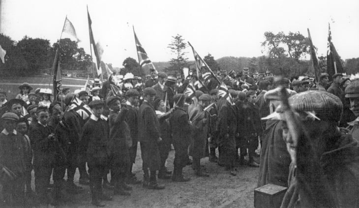 Fete at Skibo 1902