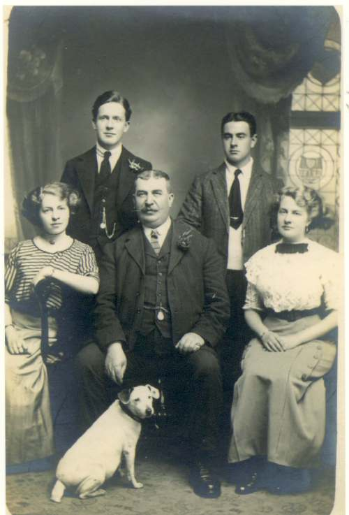 John Sutherland family photograph