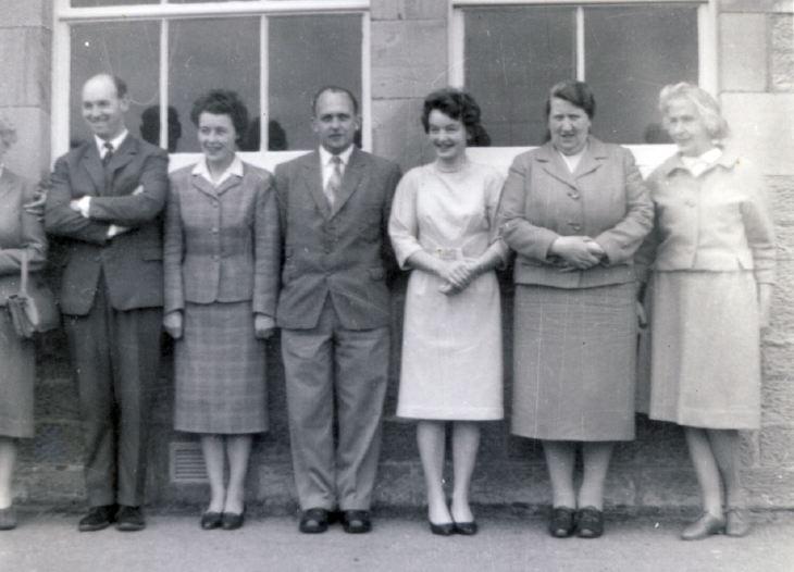 Staff of Dornoch Academy
