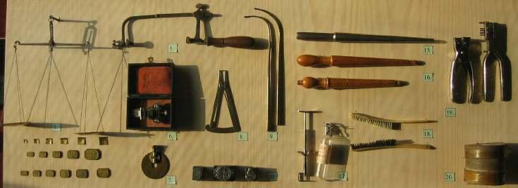 Watchmaker's tools