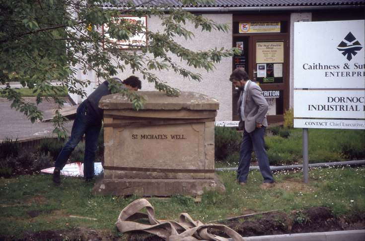 St Michael's well move