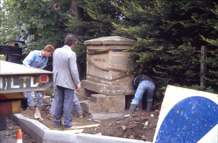 St Michael's well after move