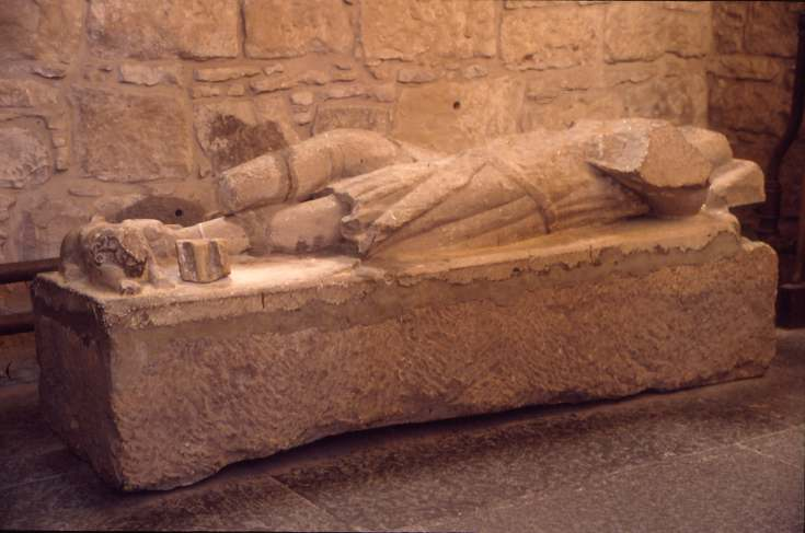 Sarcophagus in Dornoch Cathedral 1995