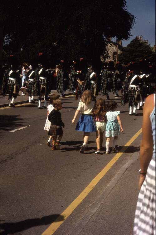 Pipe band march 1985