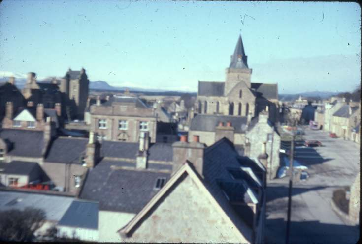 Dornoch from Schoolhill 1979