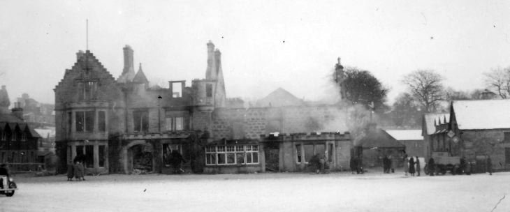 Ruins of Sutherland Arms Hotel