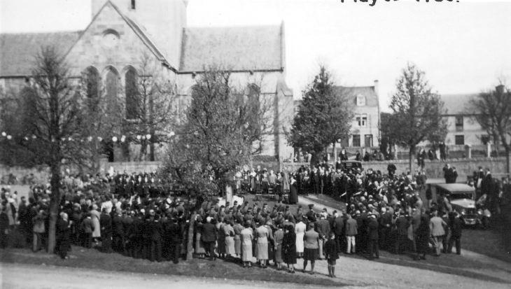 Silver jubilee celebration 1935