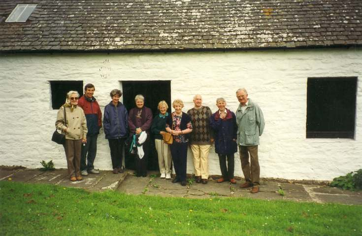 DHS outing to Dunbeath 1997
